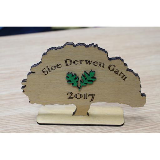 Bespoke Wooden Trophy