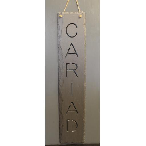 Slate - Hanging Cariad