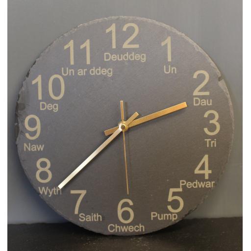 Slate Clock