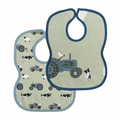 Bibs (Set of 2) - On The Farm