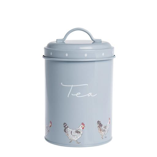 Tins - Sugar, Tea and Coffee - Chickens