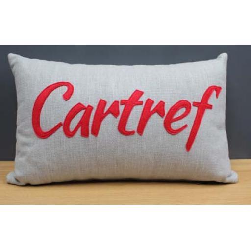 Cushion - 'Cartref '