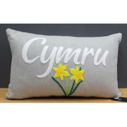 Cushion - 'Daffodil Cymru'