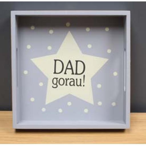 Tray - 'Dad gorau!'