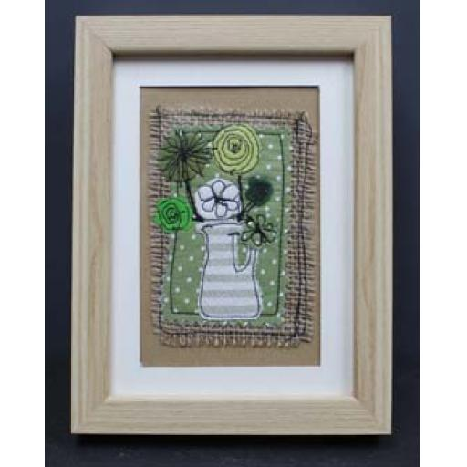 Framed Applique - Green