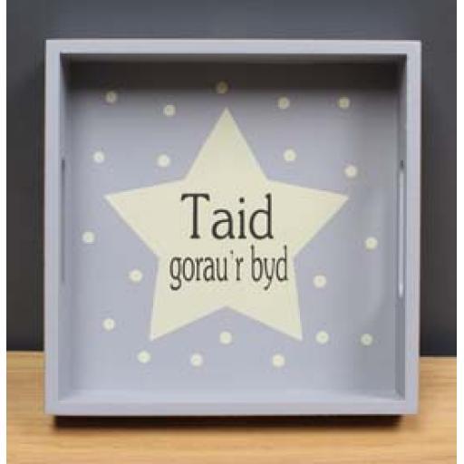 Tray - 'Taid gorau'r byd'