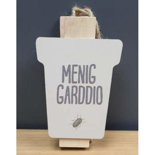 Peg - 'Menig Garddio'