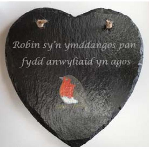 "Slate Heart ""Robins appear"""