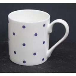 Welsh Connection Blue Polka Dot Mug.jpg