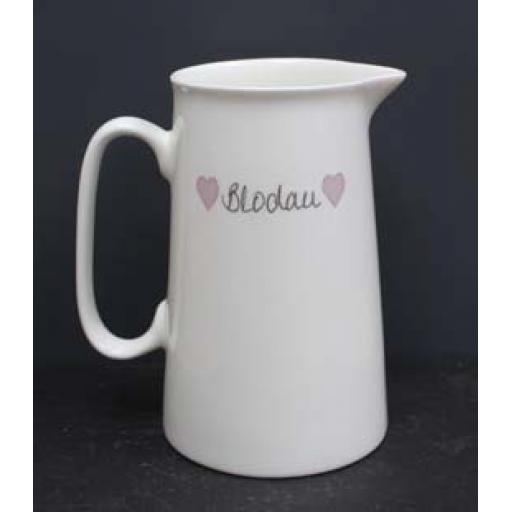 Welsh Connection - Choice of 'Blodau' Jugs