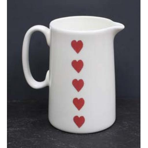 Welsh Connection Heart Jug