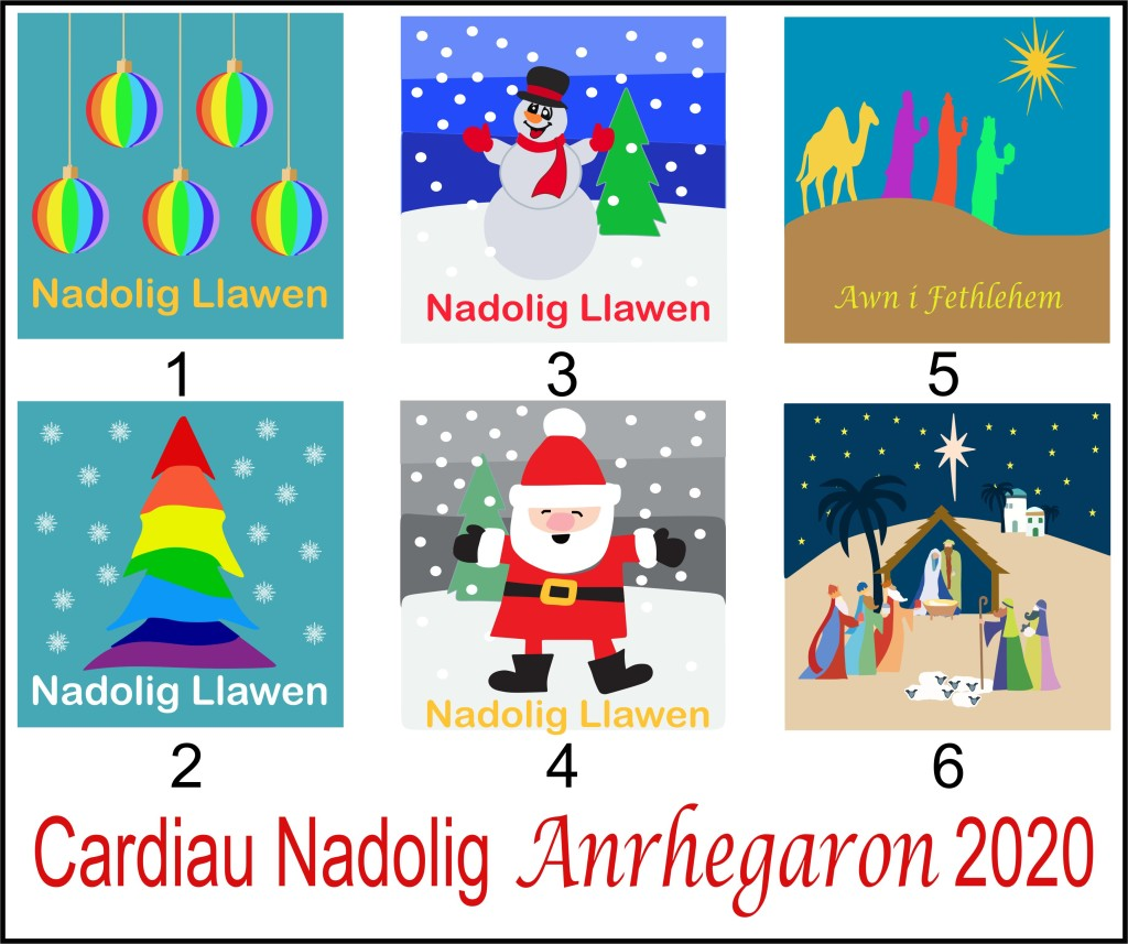 Welsh Gifts & Exclusive 2020 Christmas Card Collection