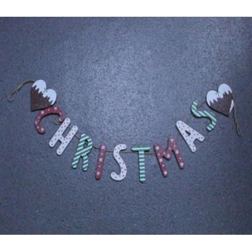 Garland - 'Christmas'