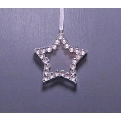 Hanging Crystal Star